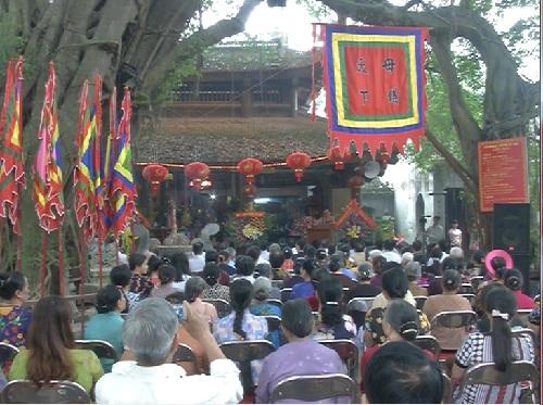 Khai mạc lễ hội đền Mẫu ở thành phố Hưng Yên