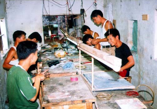 Làng Nghề chạm bạc thôn Huệ Lai