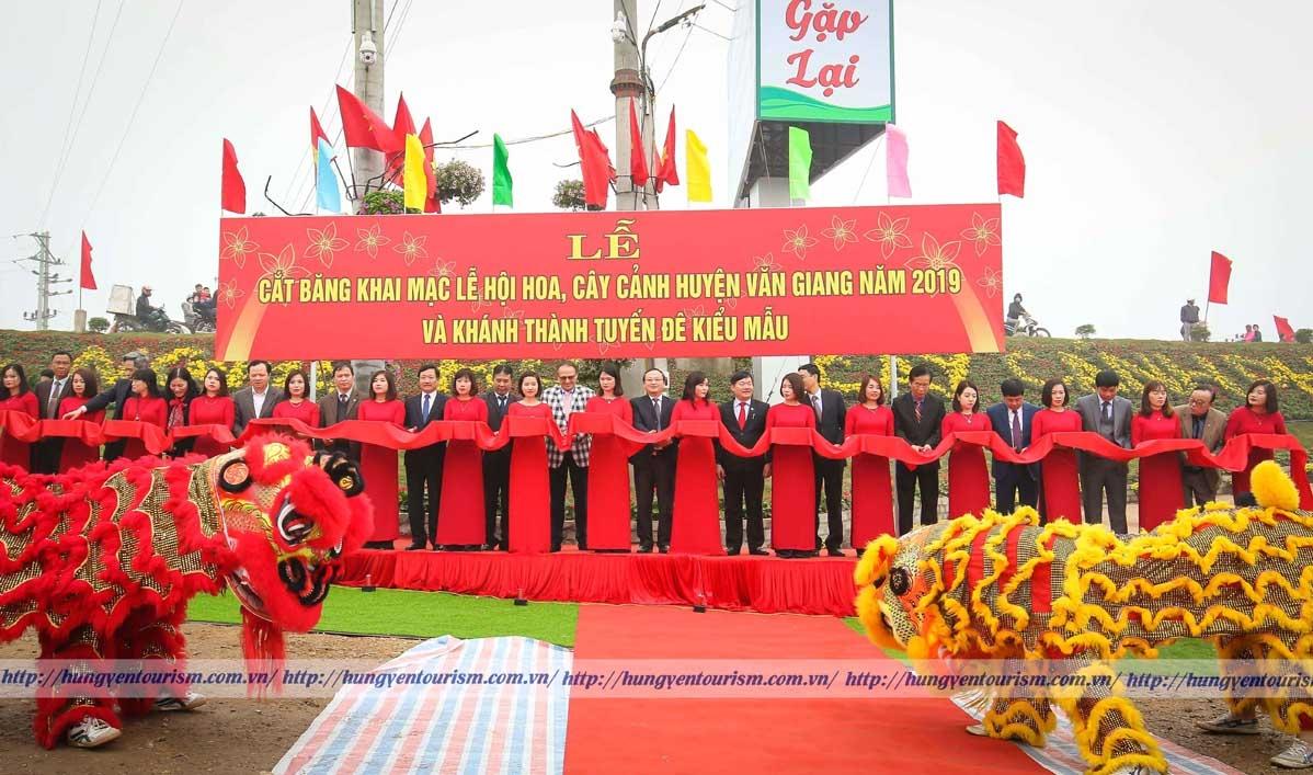 Lễ hội hoa Văn Giang năm 2019