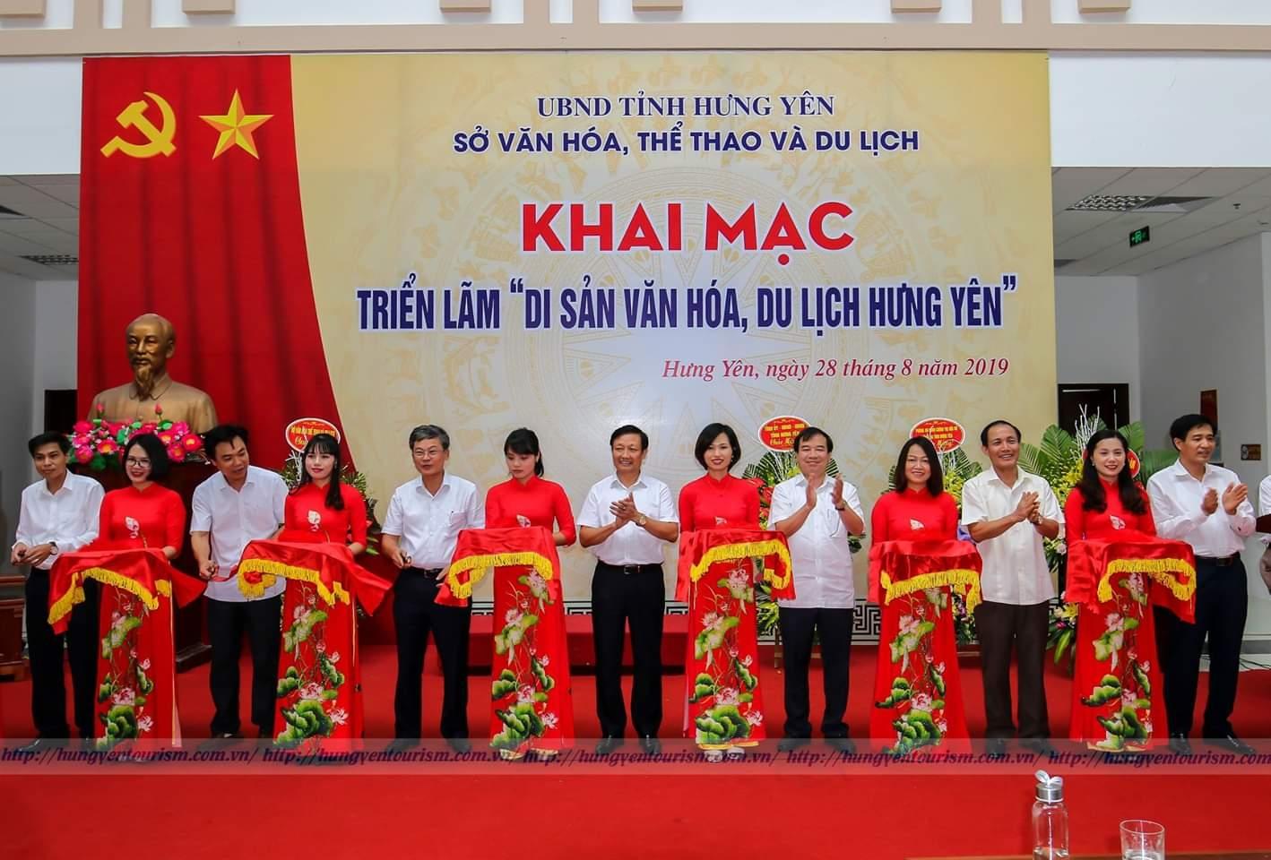 """Triển lãm """" Di sản văn hóa, du lịch Hưng Yên"""" năm 2019"""