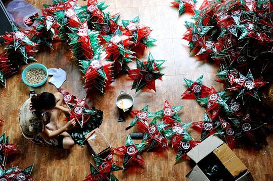 Ông Hảo – Làng nghề làm đồ chơi trung thu truyền thống mang đậm bản sắc văn hóa dân tộc.